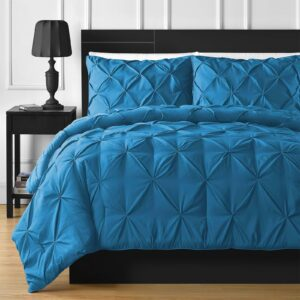 Diamond Turquoise Bed Sheet Set With Quilt, Pillow And Cushions Covers