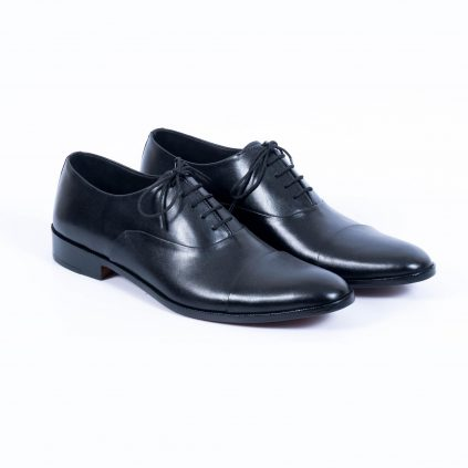 Spadera Handmade Leather Shoes - Inky Oxford