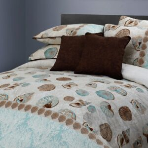 Abree Shell 8 Pcs Duvet Cover Bedding Set
