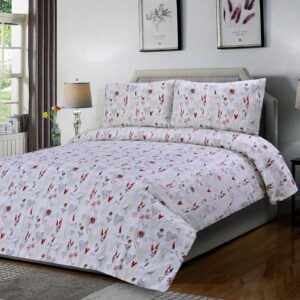 Dona Heart 3 Pcs Bedding Set