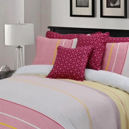 Myra 8 Pcs Duvet Cover Bedding Set 02