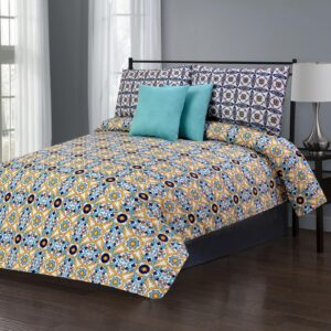 Sienna Crushed 5 Pcs Bedding Set 01
