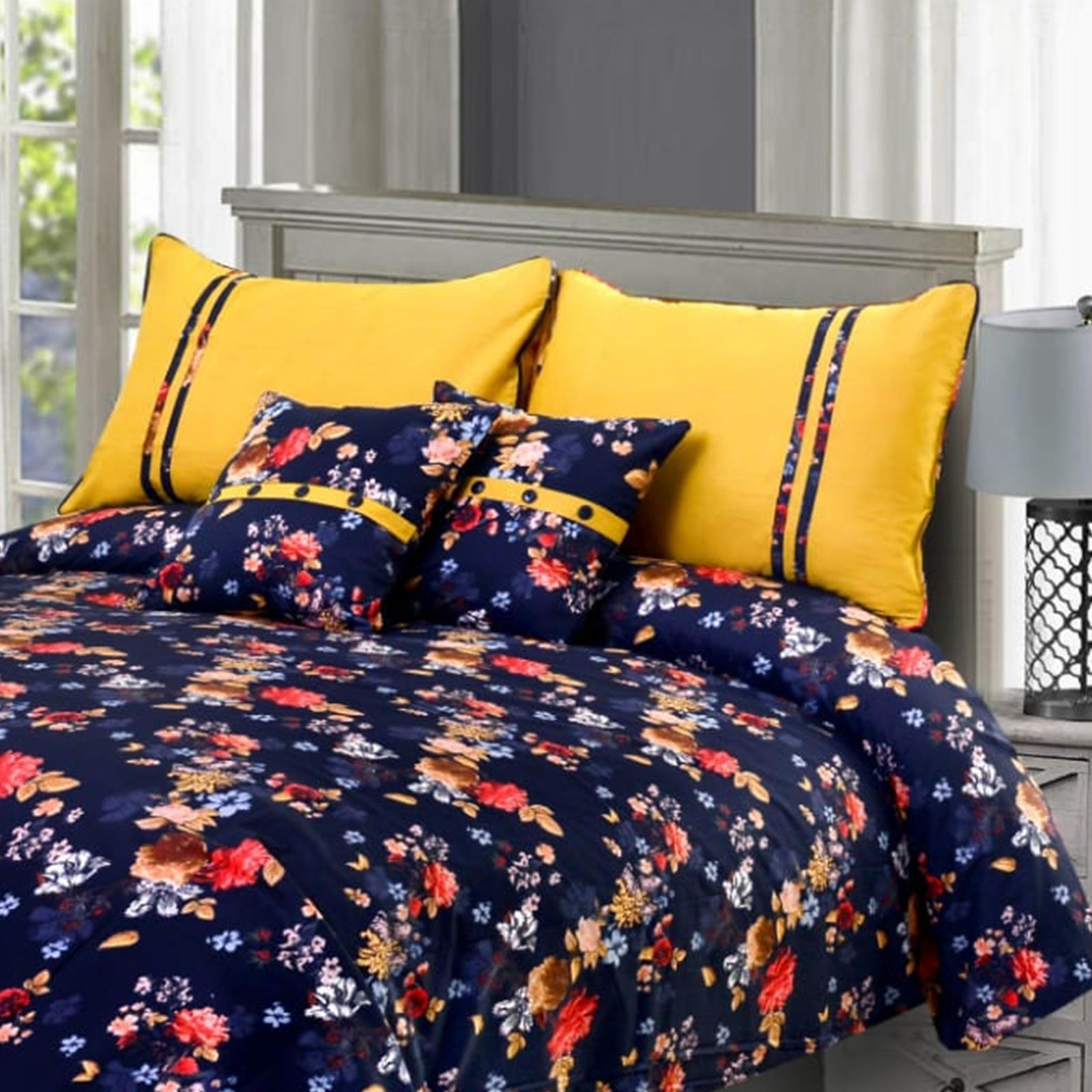 Troy 5 Pcs Bedding Set 02